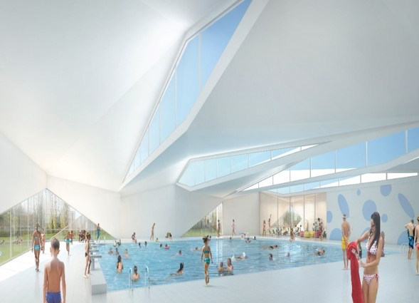 éclairage naturelle piscine