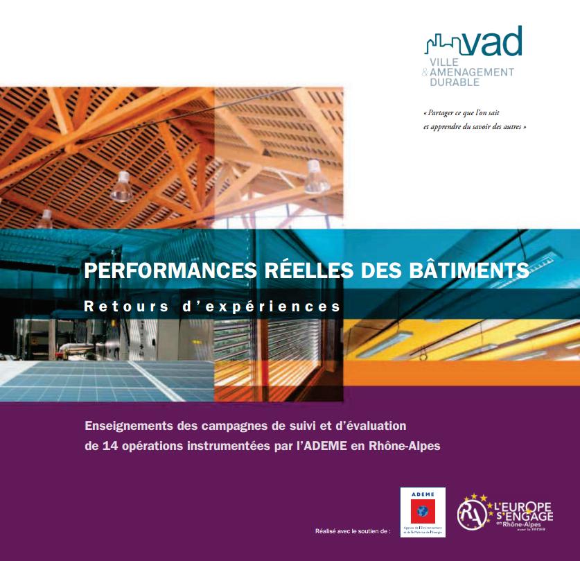 Performances réelles des bâtiments : retours d'expériences